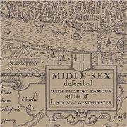 Papier peint - Thibaut - London Map - Linen
