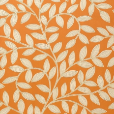 Papier peint - Thibaut - Havendale - Orange