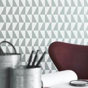 Papier peint - Boråstapeter - Trapez - Gris ciment