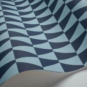 Papier peint - Boråstapeter - Trapez - Bleu outremer