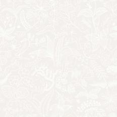 Papier peint - Boråstapeter - Grazia - Gris soie à blanc