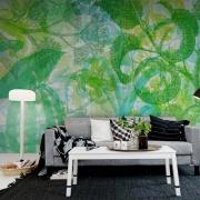 Décor mural - Rebel Walls - Jelly Belly Plants - Green