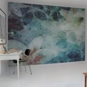 Décor mural - Rebel Walls - Garden of dreams - Bleu