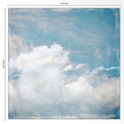 Décor mural - Rebel Walls - Cloud Puff - Bleu & blanc