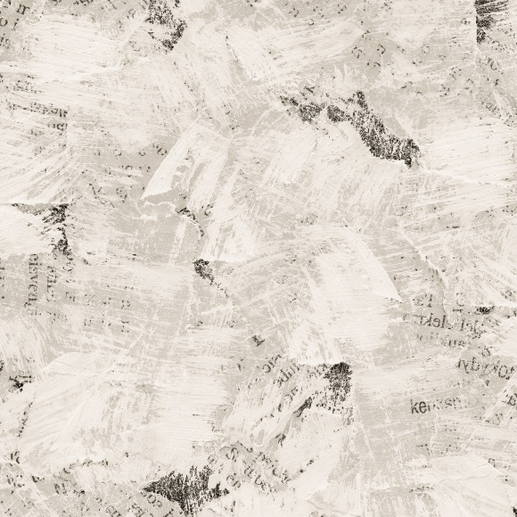 Décor mural - Rebel Walls - Abstract News - Blanc cassé