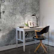 Décor mural - Rebel Walls - Dusty Rubberstamp - Noir