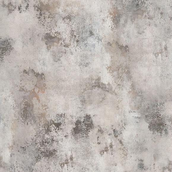 Papier peint effet mur en m tal patina rebel walls au fil des couleurs - Papier peint effet metal ...