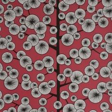 Papier peint - MissPrint - Cotton Tree - Snapdragon red