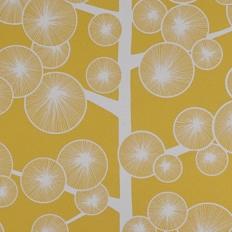 Papier peint - MissPrint - Cotton Tree - Buttercup yellow