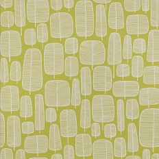 Papier peint - MissPrint - Little Trees - Moss