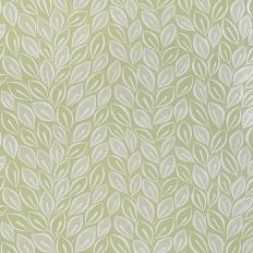 Papier peint - MissPrint - Leaves - Absinthe with white
