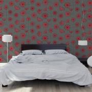 Papier peint - MissPrint - Dandelion Mobile - Storm with coral