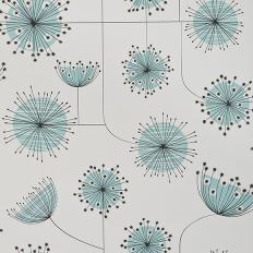 Papier peint - MissPrint - Dandelion Mobile - Porcelain with powder blue