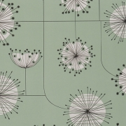 Papier peint - MissPrint - Dandelion Mobile - Mist green with white