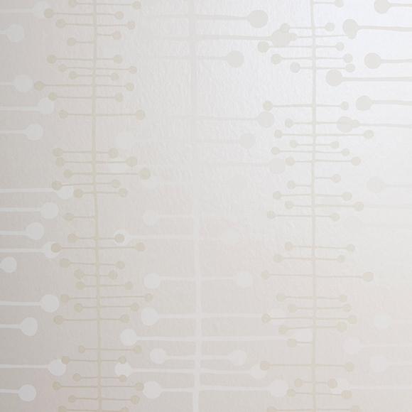 Papier peint blanc cass brillant muscat missprint au for Papier peint blanc casse