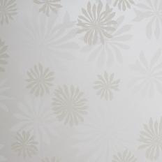 Papier peint - MissPrint - Fleur - White with stone