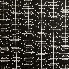 Papier peint - MissPrint - Muscat Small - Black & White