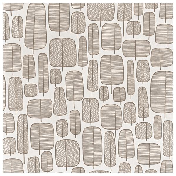 papier peint blanc marron motif d arbres graphiques little trees missprint au fil des couleurs. Black Bedroom Furniture Sets. Home Design Ideas