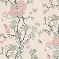 Papier peint - Tapet Cafe - Mademoiselle - Pastel rose
