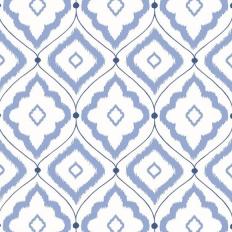 Papier peint - Thibaut - Bungalow - Blue