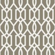 Papier peint - Thibaut - Downing Gate - Grey