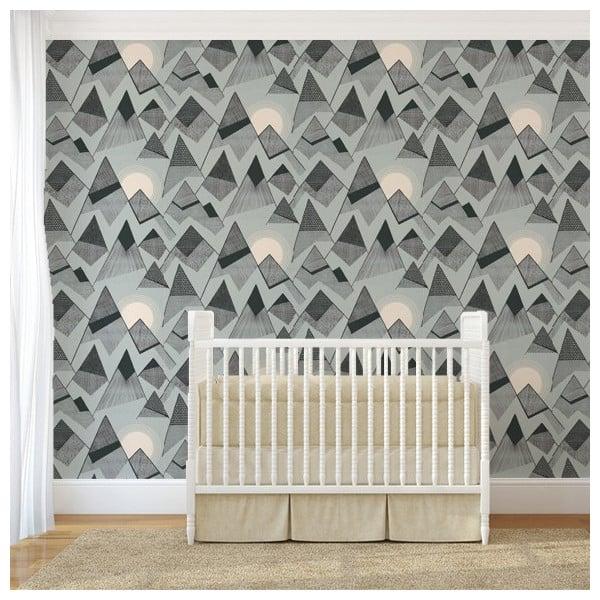 papier peint blue moon collection mountains de missprint. Black Bedroom Furniture Sets. Home Design Ideas