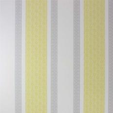 Papier peint - Osborne & Little - Chantilly stripe - Primrose/Silver