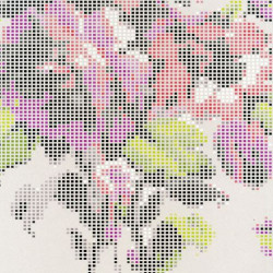 Papier peint - Osborne & Little - Pot Pourri - Shell/Fuchsia