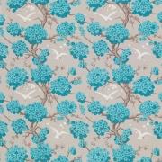 Papier peint - Osborne & Little - Japonerie - Turquoise/Ivory/Stone