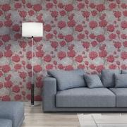 Papier peint - Osborne & Little - Japonerie - Red/Linen/Taupe/Ivory