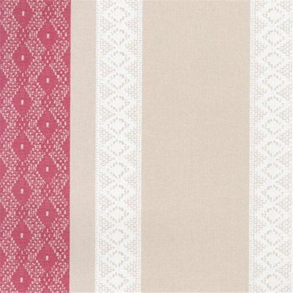 papier peint effet tissu brod rose. Black Bedroom Furniture Sets. Home Design Ideas