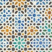 Papier peint - Coordonné - Alandalus - Multicolore