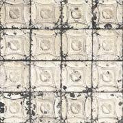 Papier peint - NLXL by ARTE - BROOKLYN TINS 1 - Blanc cassé