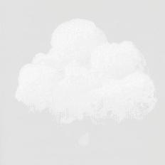 Papier peint - Bartsch - Nuages de Coton - Gris petit matin