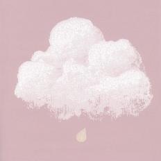 Papier peint - Bartsch - Nuages de Coton - Rose santal