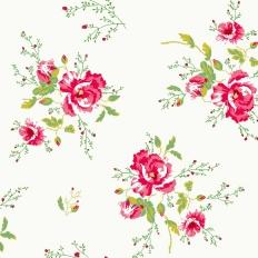 Papier peint - Coordonné - Winter Poppies - Ivory
