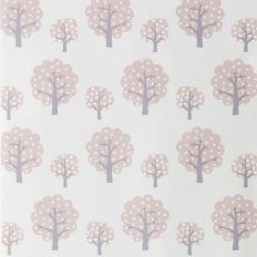 Papier peint - Ferm Living - Dotty - Rose