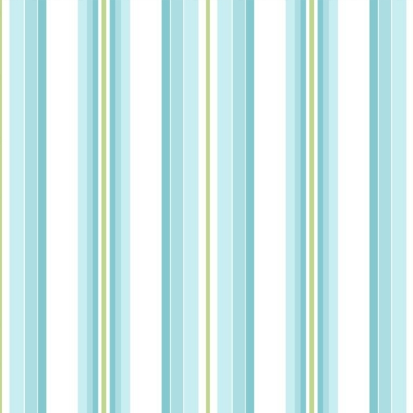 papier peint bleu rayures chambre gar on. Black Bedroom Furniture Sets. Home Design Ideas