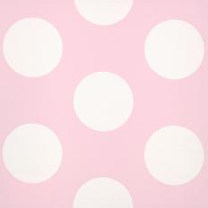 Papier peint - Coordonné - Dots - Pink Negative