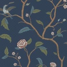Papier peint - Sandberg - Marianne - Dark blue