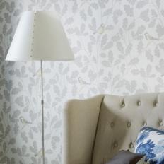 Papier peint - Sandberg - Waldemar - Light grey