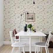 Papier peint - Cole and Son - Hummingbirds - Soft Multi Colour