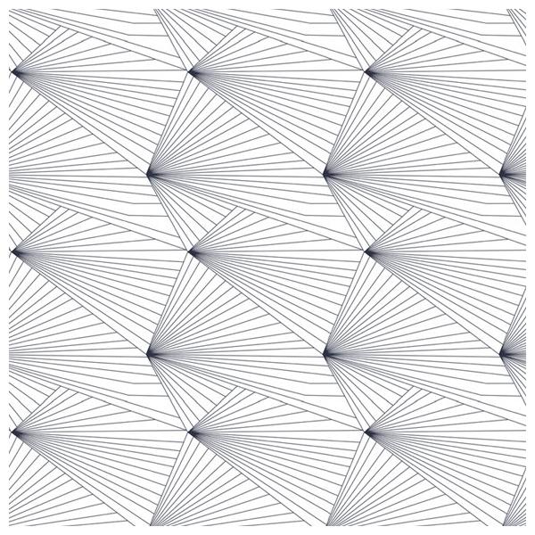 papier peint g om trique avec des lignes fan navy white. Black Bedroom Furniture Sets. Home Design Ideas