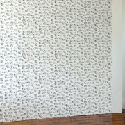 Papier peint - Erica Wakerly - Houses - Black / Grey / Cream