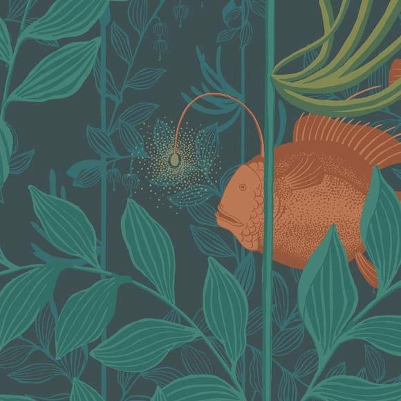 Papier Peint Cole And Son Art Nouveau Design Motifs Papier Peint