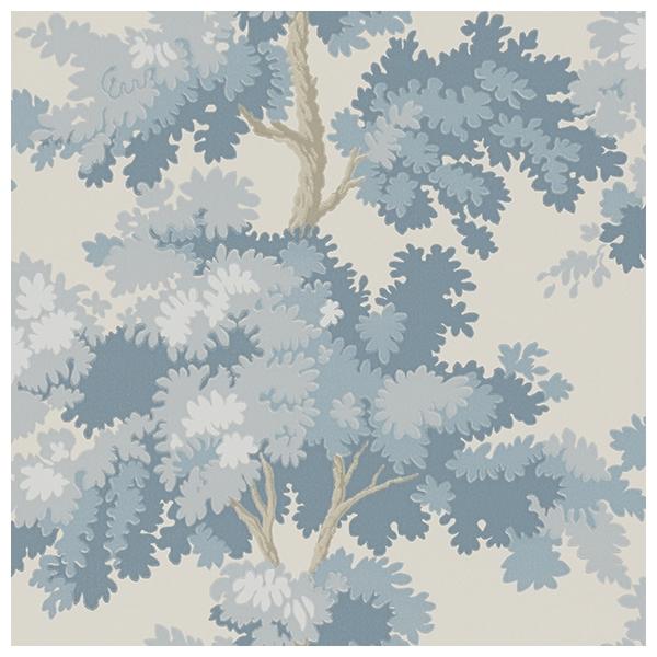 Papier peint aux arbres bleus, Raphaël