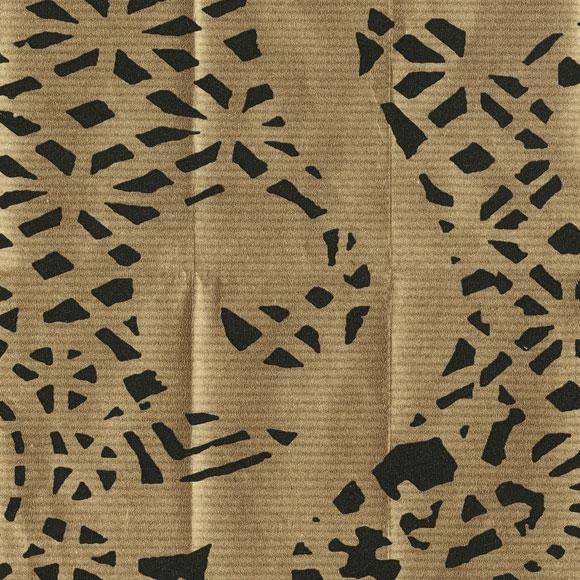 papier peint hallelujah d coupe papier cuivr s et dor s. Black Bedroom Furniture Sets. Home Design Ideas
