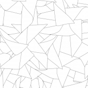 Papier peint - Erica Wakerly - Windmill - Black / White