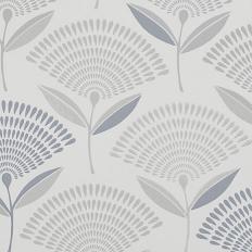 Papier peint - Prestigious Textiles - Calia - Silver