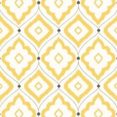 Papier peint - Thibaut - Bungalow - Yellow